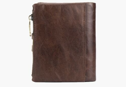 Leather Cowhide Wallet BULLCAPTAIN