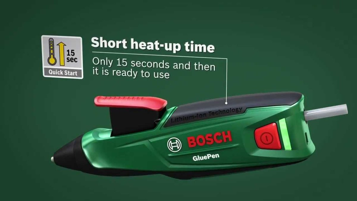 Akumulatora līmes pistole Bosch GLUE PEN 06032A2000