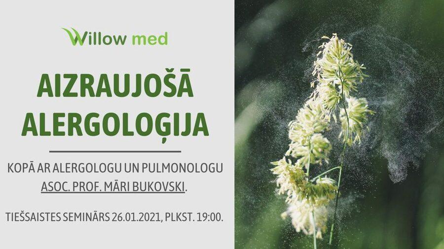 Tiešsaistes seminārs - Aizraujošā alergoloģija