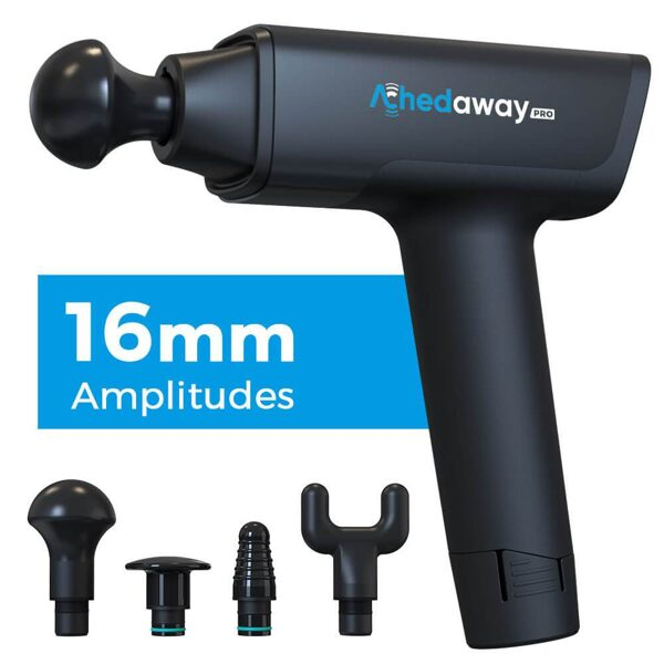 ACHEDAWAY PRO PERCUSSION AND VIBRATION MASSAGER GUN